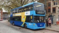 Metrobus 6960 (YP58 UGA) Horsham 16/11/19 (jmupton2000) Tags: yp58uga scania omnidekka mertobus crawley goahead south coast uk bus