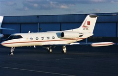CN-ANL Gulfstream 2TT  Paris-LBG (liekwxtt43) Tags: gulfstream g2tt cnanl lfpb lbg bizav