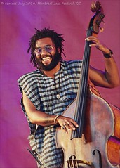 Russell Hall (bassist for the Shakes); Montreal Jazz Festival. (FIJM 2019, Day 4) (tmr_flickr2009) Tags: 2019 artist bassist bass blues canada city concert concertphotography culture dance entertainment fijm fijm2019 festival instrument jazz michaelmwenso montreal montrealjazzfestival june music musicians performance people performingarts russellhall shakes tomros ©tomros worldmusic p1200518