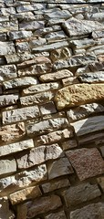 stacked limestone (Mamluke) Tags: sunlight sunlit rock stacked chimney limestone wisconsin stone piedra pietra stein steen pierre