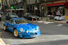 Alpine A-110. (Loup-Blanc) Tags: uzès gard france alpine voiture