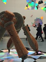 1-2 Handles at MoMA (MsSusanB) Tags: moma museumofmodernart handles performance sculpture installation nyc newyorkcity exhibition museum haegue yang