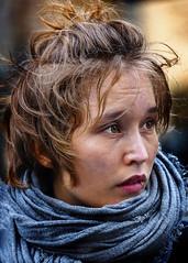 Portrait (D80_547548) (Itzick) Tags: candid copenhagen color colorportrait youngwoman brunette streetphotography scarf face facialexpression portrait denmark d800 d700 itzick