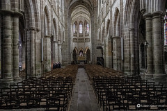 Treguier cathedral, Brittany, France (Louis Geoffroy) Tags: église intérieur interior chuchote cathedral colonnes columns chairs chaises