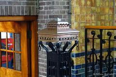 Treppengeländer (Sockenhummel) Tags: holland niederlande pumpwerrk friesland unesco jugendstil treppe treppengeländer rainling handlauf architektur architecture staircase door tür sony rx100m4