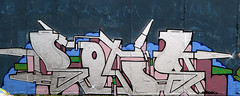 Graffiti in Haarlem (wojofoto) Tags: haarlem hetlandje legalwall halloffame bots graffiti streetart nederland netherland holland wojofoto wolfgangjosten