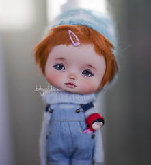 Pumuky (_babycatface_) Tags: doll dollphotography dollcustom dollrepaint repaint repainted biboo custom customdoll cute cutiepie toy toyphotography