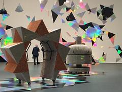 1-3 Handles at MoMA (MsSusanB) Tags: nyc newyorkcity museum moma exhibition museumofmodernart yang installation handles haegue sculpture performance