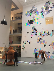 1-1 Handles at MoMA (MsSusanB) Tags: moma museumofmodernart handles performance installation nyc newyorkcity exhibition museum haegue yang