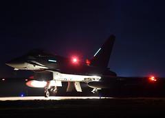 ZK424 @ Night (np1991) Tags: royal air force raf lossiemouth lossie moray scotland united kingdom uk nikon digital slr dslr d7200 camera nikor 18140mm lens night eurofighter typhoon fgr4 2 two ii squadron sqn