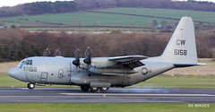 "165158 ""CNV6512"" US Navy Lockheed C130-T Hercules out of Sigonella landing at Prestwick. 15/11/19 (BS Images.) Tags: 165158 us usnavy lockheed lockheedmartin hercules military aircraft airport ayrshire aviation egpk glasgowprestwick gpa prestwick prestwickairport pik southayrshire scotland"