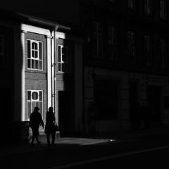 2019 Octobre - Vacances (Copenhague).482 (hubert_lan562) Tags: black white noir blanc monochrome ombre lumiere light rue street copenhague danemark