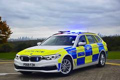PO68 FZW (S11 AUN) Tags: london metropolitan police bmw 530i estate touring anpr interceptor traffic car roads policing unit rpu 999 emergency vehicle metpolice po68fzw