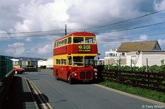 ALM60B KD Coaches RM2060 (theroumynante) Tags: alm60b kd coaches rm2060 aec routemaster park royal gronant north wales bus buses doubledeck road transport halfcab stepentrance rearentrance rearplatform london lte black prince