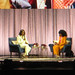 20190410_3k Michelle Obama & moderator talking about Michelle's book ''Becoming'' in Globen, Stockholm, Sweden