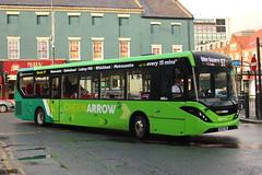 Go Ahead, Green Arrow, ADL Enviro 200MMC, NK69FBB (NottsBus (BM71)) Tags: nk69fbb goahead greenarrow