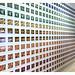 Rainbow Polaroid Wall