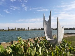 Sculpture, Palić, Serbia (Norbert Bánhidi) Tags: serbia palić палић palics statue sculpture szobor lake serbien serbie sérvia servië сербия szerbia srbija србија vojvodina војводина vajdaság