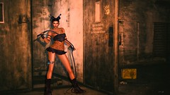 dangerous woman (xPeach Boucherx) Tags: secondlife catwa maitreya oops fashion night fun home shop national bar kiratattoo blackcatsposes