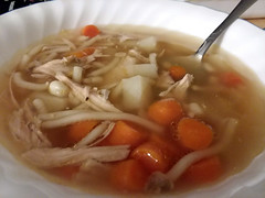 Soup For Supper. (dccradio) Tags: lumberton nc northcarolina robesoncounty indoor indoors inside food eat meal supper dinner lunch snack samsung galaxy smj727v j7v cellphone cellphonepicture homemade soup carrots chickensoup chickennoodlesoup potatoes corn noodles broth bowl soupbowl thursday evening thursdayevening november goodevening