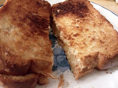 Grilled Cheese Sandwich. (dccradio) Tags: lumberton nc northcarolina robesoncounty indoor indoors inside food eat meal supper dinner lunch snack samsung galaxy smj727v j7v cellphone cellphonepicture sandwich grilledcheese toasted thursday evening thursdayevening november goodevening