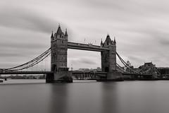 Tower Bridge (jarekwojtowicz) Tags: towerbridge blackandwhite longexposure bridge bnwdrama fujifilm urban city ndfilter architecture london