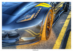Chevy Corvette ZR1 (Pearce Levrais Photography) Tags: car automobile auto sony a7r3 hdr thebestofhdr portrait sportscar racing luxury 750hp headlight