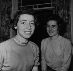 Sisters 1956 (Bracus Triticum) Tags: people canada december brandon manitoba 1956 winter sisters alberta カナダ アルバータ州