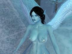 Ice Elf 111619_006 (Justine Flirty) Tags: enchantment snow ice fantasy sl