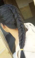 French fishtail  Braided hairstyle  Fishtail braids  #hair #style #stylish #longhair #nice #hairstyle #fashion #beautiful #beauty #model #modern #sexyhair #braided #braids #braid #fishtail #esay #haircut #ponytail #french  تسريحة شعر  تسريحة ذيل السمكة ال (Hair.styles) Tags: beautiful esay longhair hair beauty braid braided fishtail style fashion ponytail modern haircut braids french hairstyle nice sexyhair stylish model