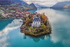 Iseltwald (WaldyWhite) Tags: see schweiz switzerland swiss schloss швейцария ландшафт озеро горы landschaft landscape lake lacke