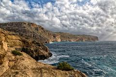 The Cliffs of Zurrieq, Malta 2019 (Ant Sacco) Tags: zurrieq malta ilmunqar cliffs sea