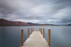 New Ashness Jetty - D E R W E N T   W A T E R (Twogiantscoops) Tags: 1635mmf4 bigstopper cpfilter thelakes iplymouth britishheartfoundation 10stop lee derwentwaternorthlakes creative longexposure northlakes photoshop filters cableremote painterly landscape wideangle 5dmk2 derwentwater leefilters cumbria thenorth canon intervalometer softgrad barrowbay pier ashnessjetty lakedistrict lakes circularpolariser autumnal ashnesslanding lephotography chrismarshall'simages autumn manfrotto ndfilter twogiantscoops ashness creativity