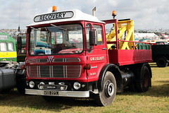 G.W.J. Elliot 1971 AEC Mercury VOD223J Great Dorset Steam Fair 2019 (davidseall) Tags: gwj elliot 1971 aec mercury vod223j great dorset steam fair 2019 show rally gdsf vod 223j truck lorry dropside large heavy goods vehicle lgv hgv preserved restored haulage transport old british blandford forum tarrant hinton uk