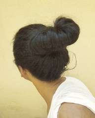 Fan bun hairstyle  Hair bun  Big hair bun  #hair #style #stylish #longhair #nice #hairstyle #fashion #beautiful #beauty #model #modern #sexyhair #bun #roll #twist #haircut #bigbun #french #updo  French bun  تسريحة شعر الكعكة  تسريحة كعكة المروحة  كعكة شعر (Hair.styles) Tags: beautiful longhair hair beauty style fashion roll modern haircut french hairstyle twist updo nice sexyhair bigbun stylish bun model