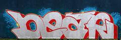 Graffiti in Haarlem (wojofoto) Tags: haarlem hetlandje legalwall halloffame dear graffiti streetart nederland netherland holland wojofoto wolfgangjosten