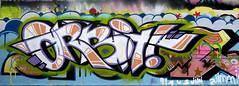 Graffiti in Haarlem (wojofoto) Tags: haarlem hetlandje legalwall halloffame orbit graffiti streetart nederland netherland holland wojofoto wolfgangjosten
