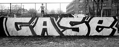 Graffiti in Haarlem (wojofoto) Tags: haarlem hetlandje legalwall halloffame case zwartwit monochrome blackandwhite graffiti streetart nederland netherland holland wojofoto wolfgangjosten