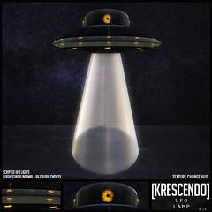 [Kres] UFO Lamp ([krescendo]) Tags: madpea greenmire secondlife sl kres krescendo