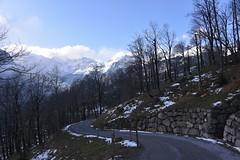 DSC_0423 (Bergwandern Alpen) Tags: alpen alps bergwandern hiking bergstrasse winter berglandschaft mountenlandscape steinmauer