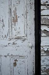 Weathered Door (pjpink) Tags: littlewashington washington virginia july 2019 summer pjpink 2catswithcameras abandoned overgrown