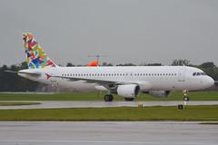 EC-MQH Gowair Airbus A320, EGCC 29/9/19 (David K- IOM Pics) Tags: egcc man manchester ringway airport ec ecmqh gowair tui tom airbus a320