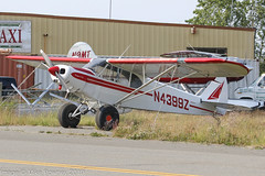 N4399Z - 1974 build Piper PA-18-150 Super Cub, parked at Lake Hood (egcc) Tags: 187409046 alaska anchorage furber lhd lakehood lakehoodseaplanebase lakespenard lightroom n4399z pa18 pa18150 palh piper supercub