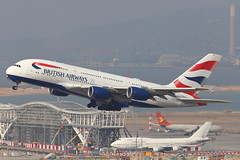 BA A388 G-XLED @ BA028D (EddieWongF14) Tags: britishairways airbus airbusa380 airbusa380800 airbusa380841 a380 a388 a380800 a380841 gxled