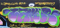 Graffiti in Haarlem (wojofoto) Tags: haarlem hetlandje legalwall halloffame wamor graffiti streetart nederland netherland holland wojofoto wolfgangjosten