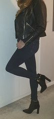 New Ankle Boots :-) (LindaTV2017) Tags: crossdresser crossdressing transvestite tranny tv cd tgirl tgurl riverisland imwearingri