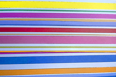 stripes in color (rectorjoyce) Tags: lines colors shapes leading red yellow blue orange