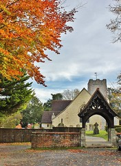 Photo of Autumn Time At The Lych Gate