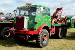 Colin Pitt 1955 AEC Militant UAS210 Great Dorset Steam Fair 2019 (davidseall) Tags: colin pitt 1955 aec militant uas210 great dorset steam fair 2019 show rally gdsf uas 210 truck lorry tractor recovery wrecker vehicle commecial old british preserved restored blandford forum tarrant hinton uk