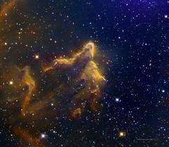 Gamma Cassiopeiae Nebula (IC63) (Carballada) Tags: astrophotography redditastro astronomy deep space astro celestron zwo as1600mmc skywatcher ts sky qhy qhy5iii174 pixinsight galaxy galaxies deepspace telekopeservice narrowband hstpalette mach1 astrophysics astrophoto mesu mesu200 mesumount eq6r eq6 ts107 astrodon rc10 asi290 asi174 asi1600 asi183 astrometrydotnet:id=nova3742669 astrometrydotnet:status=solved
